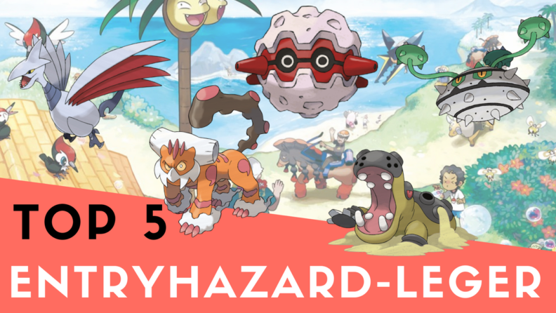 tarnsteineleger pokemon top 5