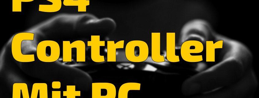PS4 Controller mit PC verbinden